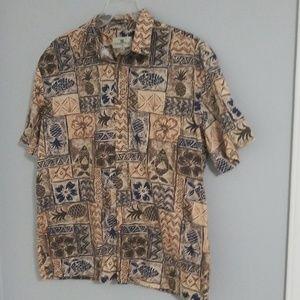 Mens button down shirt, size XL
